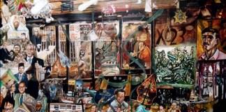 Lukisan Bahtera Kontroversi Ketidakadilan Menuju Kemerdekaan (part-1 2004 ), Karya Tb Arief Z, lukisan cat minyak di kanvas 120 X 100 cm/Sumber Istimewa