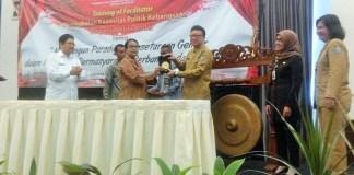 Mendagri Tjahjo Kumolo di Hotel Royal Kuningan, Jakarta Selatan, Selasa, (27/9)/Foto Fadilah/Nusantaranews