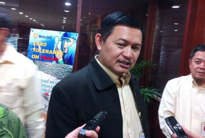 Direktur PT Pertani (Persero), Wahyu Suparyono/Foto Richard Andika/ Nusantaranews