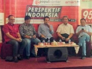 Diskusi Mangan Ora Mangan, Bikin Holding Pangan/Foto nusantaranews/Achmad