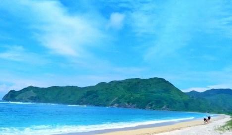 Pantai Lancing di Loteng/Foto Istimewa
