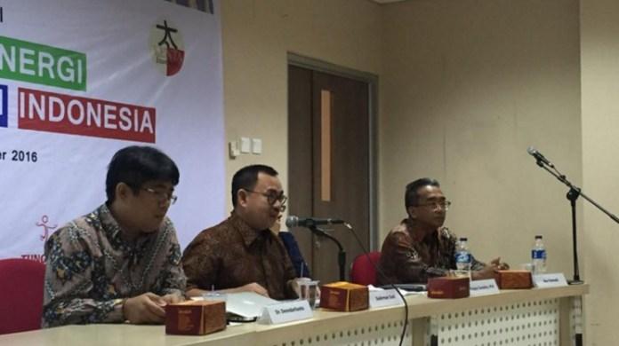 Mantan Menteri Energi dan Sumber Daya Mineral (ESDM) Sudirman Said dalam Forum Diskusi Ketahanan Energi untuk Masa Depan di Kampus MM UGM Jakarta/ Foto Andika