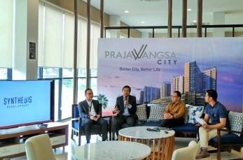 """Diskusi, dengan tema """"Prajawangsa City: Konsep dan Solusi Hunian Pekerja di Sisi Selatan Jakarta"""" Rabu (28/9)/Foto: dok. Teresia"""