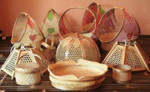 Ilustrasi kerajinan dari bambu/Foto istimewa