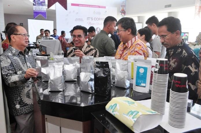cara Perayaan Ke-2 Hari Kopi Internasional di Indonesia yang digelar di Semarang, Jawa Tengah, Sabtu (1/10)/Foto: Dok. Kemenperin