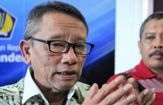 Dirjen Pajak, Ken Dwijugiasteadi saat Konpers APBN 2017 di kantor Direktorat Jenderal Pajak, Kamis (27/10)/Foto Andika / Nusantaranews