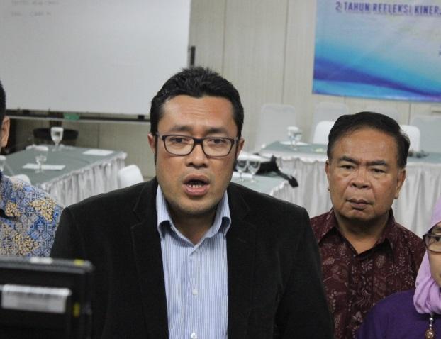 Ketua Umum Masyarakat Perikanan Nusantara (MPN) sekaligus anggota DPR komisi IV, Ono Surono. Foto: Andika/Nusantaranews