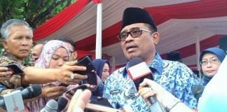 Pelaksana Tugas (Plt) Gubernur DKI Jakarta, Soni Sumarsono/Foto Andika / Nusantaranews