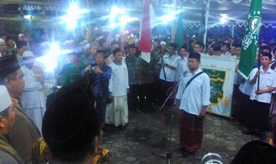 Pimpinan Kirab Resolusi Jihad NU KH. Ishfah Abidal Aziz/Foto: Timlo.net