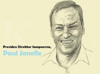Presiden Direktur Sampoerna Paul Janelle dalam ilustrasi/Foto Ilustrasi: Dok. Kontan