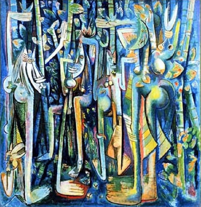 Lukisan Wilfredo Lam