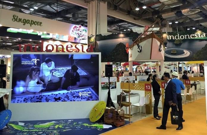 Brand Pariwisata Wonderful Indonesia Beraksi di Ajang ITB Asia 2016/Foto: Dok. Kemenpar