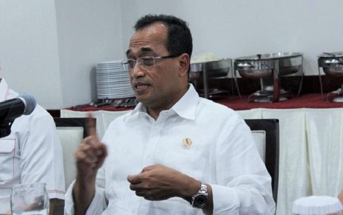 Menteri Perhubungan Budi Karya Sumadi/Foto Andika / Nusantaranews
