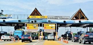 Gerbang Tol Karang Tengah/Foto: dok. TanggerangNews