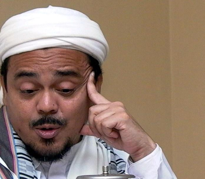 Ketua FPI Habib Rizieq/Foto IST