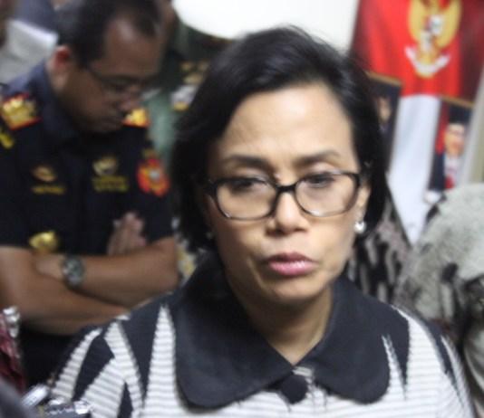 Menteri Keuangan Sri Mulyani. Foto Andika/Nusantaranews