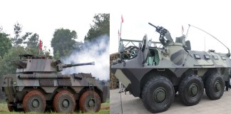 Panser Anoa dan Panser Badak hasil Produksi PT Pindad/Foto Ilustrasi Nusantaranews