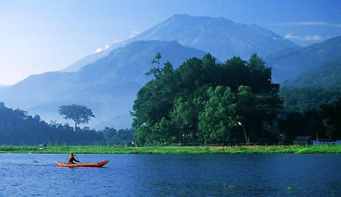 Rawapening di Jateng Salah Satu danau yang akan memperoleh restorasi pembangunan Kementerian PUPR. Foto Dok. Pemprov Jateng