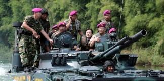 Tank marinir Foto Ilustrasi/Istimewa
