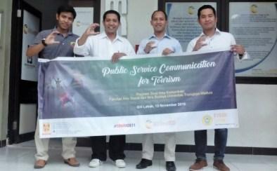 Public Service Communication for Tourism/Foto: Dok. Prodi Ilmu Komunikasi FISIB