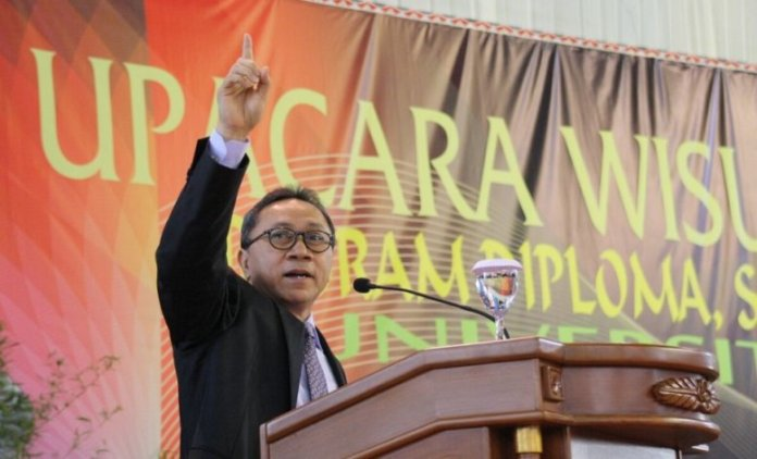 2. Ketua MPR RI, Zulkifli Hasan. Foto Dok. Humas MPR