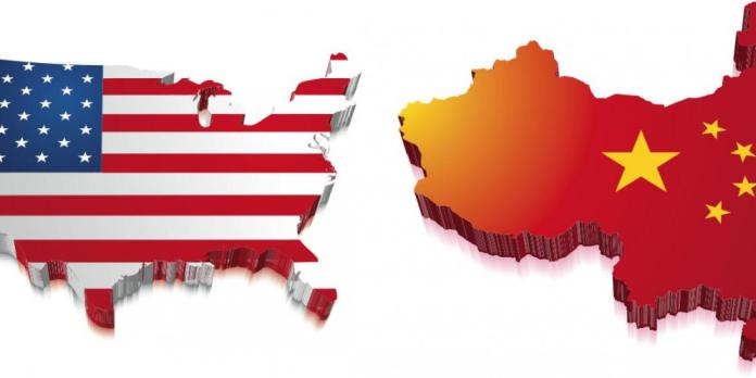 Amerika vs China. Foto Ilustrasi/IST