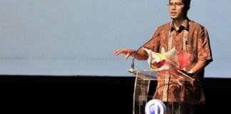 Febri Diansyah saat menerima penghargaan tahun 2012/Foto: Dok. Tempo