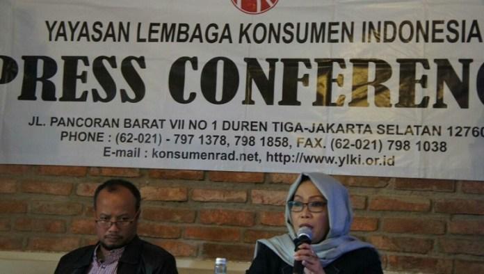 Peneliti YLKI Eva Rosita pada acara Talkshow 'Menyoal Tingkat Keamanan Pada Buah', di Jakarta, Senin, (5/12/2016)/Foto Andika / NUSANTARAnews
