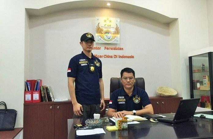 Liason Officer China, Chen Shu di Kantornya/Foto Istimewa