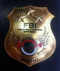 Atribut FBI/Foto Istimewa