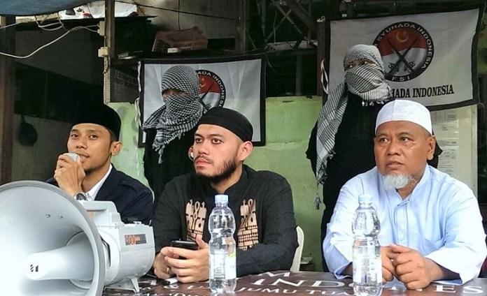 Konferensi pers Forum Syuhada Indonesia (FSI) i Menteng, Jakarta, Jumat (16/12/2016)/ Foto Hatiem /NUSANTARAnews