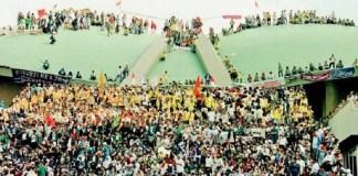 Reformasi 1998, Mahasiswa duduki gedung DPR/MPR/Foto: Dok. Merdeka