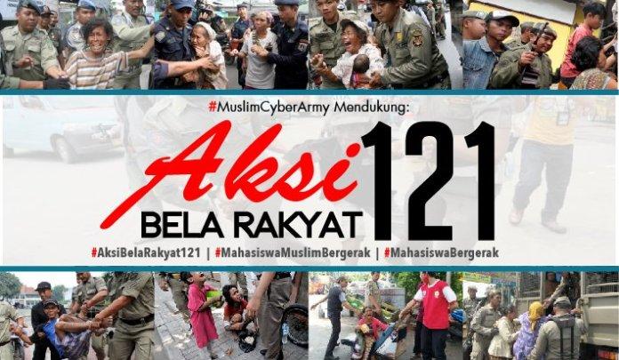 Serangan Fajar BEM SI di Istana Negara dan 18 Titik di Indonesia/Ilustrasi: dok. MuslimCyberArmy