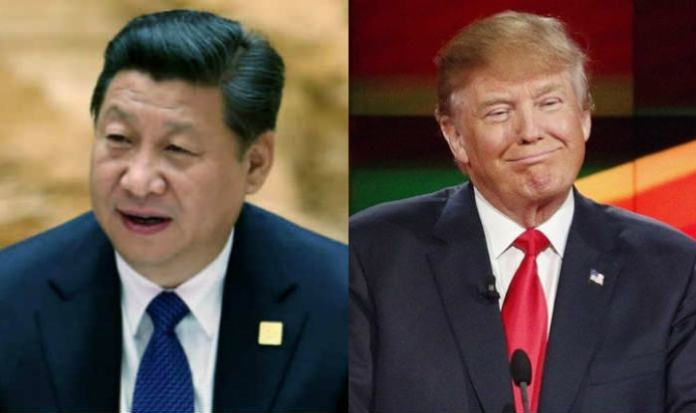 Donald Trump vs Xi JinPing. Foto via india