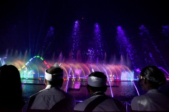 Taman Air Mancur Sri Baduga Purwakarta Akan Mendunia/Foto: Istimewa