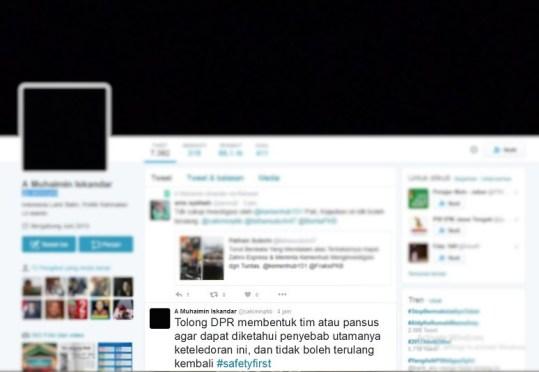 Beranda Twitter Cak Imim/Ilustrasi Nusantaranews