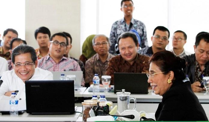 Menteri Kelautan dan Perikanan (KKP) Susi Pudjiastuti. Foto Dok. Humas KKP