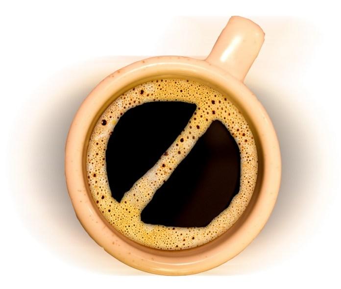 No Coffee. foto ilustrasi/ist