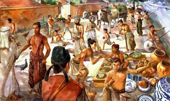 Perdagangan Nusantara Zaman Kerajaan. Foto Ilustrasi/Pidipedia