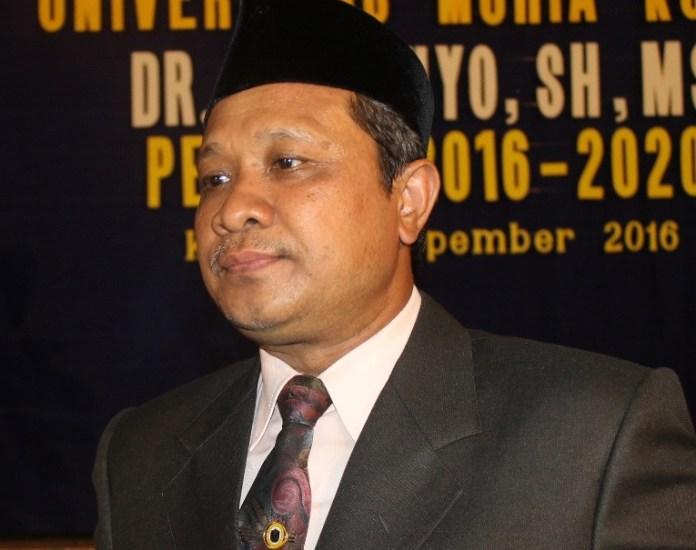 Rektor Universitas Muria Kudus Suparnyo. Foto Dok. Pribadi