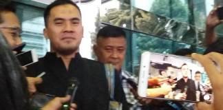 Saipul Jamil usai diperiksa penyidik Komisi Pemberantasan Korupsi (KPK). Foto Fadilah/Nusantaranews