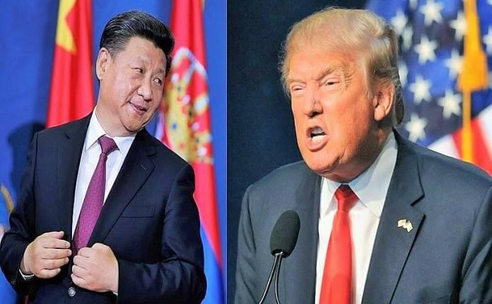 Donald Trump dan Xi Jinping/Ilustrasi Foto: NUSANTARAnews