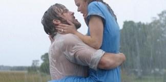 Ryan Gosling dan Rachel McAdams dalam film The Notebook (2004) New Line/REX/Shutterstock