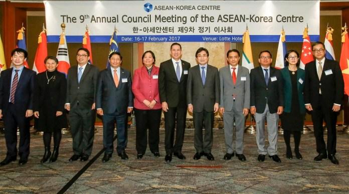 9th Council Director of the ASEAN Korea Centre/Foto via aseankorea