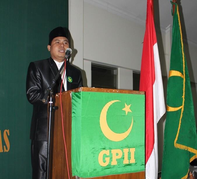 Ketua Umum Pimpinan Pusat Gerakan Pemuda Islam Indonesia (GPII) Karman BM/Foto Hatiem/NUSANTARAnews