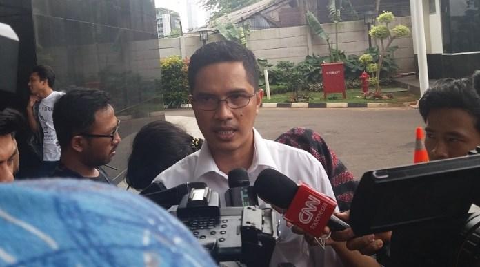 Jubir KPK, Febri Diansyah/Fadilah/Nusantaranews