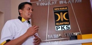 Ketua DPW PKS Jatim Arif Hari Setiawan/Foto Tri Wahyudi/Nusantaranews