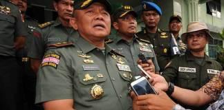 Pangdam XIII-Merdeka Mayjen Ganip Warsito/Foto: Dok. MI (M Taufan SP Bustan)