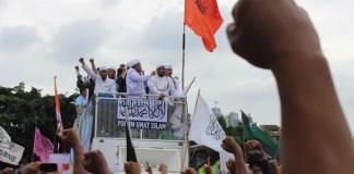 Peserta Masa Aksi 212 Jilid II/Foto Andika/Nusantaranews