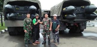 Dompet Dhuafa-Korps Marinir Bersinergi Respon Banjir di Jakarta/Foto: Dok. DMC